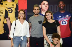 Maëva Coucke et Rachel Legrain-Trapani avec son fils Gianni, soirée en mode LOSC