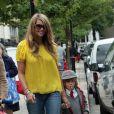 Elle Macpherson et son fils à Londres