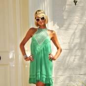 Malgré les 42°C de température... Paris Hilton a réussi à faire du ski à Dubai !