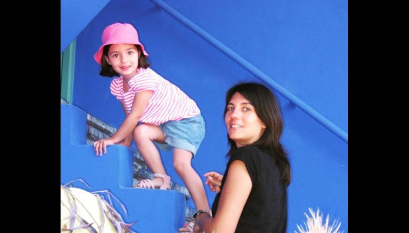 Estelle Denis et sa fille Victoire, photo Instagram du 11 juillet 2019
