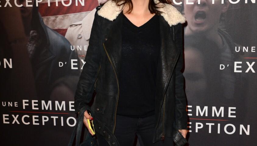 """Estelle Denis - Avant-première du film """"Une femme d'Exception"""" au cinéma Gaumont Opéra Capucines à Paris, le 4 décembre 2018. © Veeren/Bestimage"""