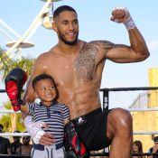Tony Yoka prêt pour son grand retour, son fils Ali monte sur le ring