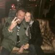 Johnny Hallyday et Laura Smet sur une photo publiée sur Instagram en février 2016.
