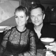 Laeticia et David Hallyday sur une photo publiée sur Instagram en mars 2016.