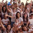 Eva Longoria lors de l'inauguration de la Global Gift House pour les enfants dans le besoin à Marbella le 12 juillet 2019