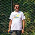 """Jérôme Anthony - Les célébrités jouent au tennis avec les enfants malades dans le cadre du concert caritatif organisé par l'association """"Enfant, star et match"""" à Antibes le 11 juillet 2019. © Lionel Urman/Bestimage11/07/2019 - Antibes"""