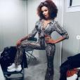Shy'm partage une de ses nouvelles coiffures à ses abonnés : la coupe afro, le 12 juillet 2019.