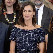 Letizia d'Espagne élégante au palais : sa robe ne coûte que 25 euros