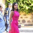 La reine Letizia d'Espagne assiste à la remise de prix des Queen Letizia awards (Premios Reina Letizia 2018) à Almagro le 9 juillet 2019