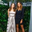 Laury Thilleman à la soirée Guerlain du 9 juillet 2019