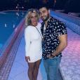 Britney Spears et à Miami. Juin 2018.