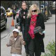 Madonna et David. Février 2009