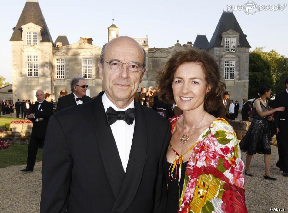 Femme Gironde alain juppé et sa femme isabelle à la fête de la fleur (gironde, le