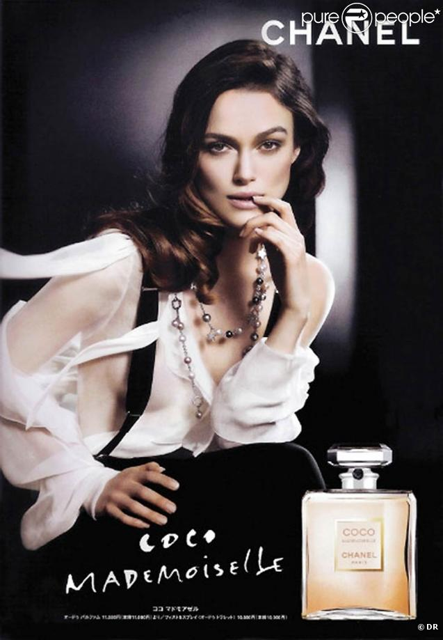 keira knightley pour chanel. Black Bedroom Furniture Sets. Home Design Ideas