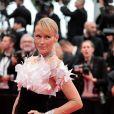 """Estelle Lefébure (robe Yanina Couture) - Montée des marches du film """"The Dead Don't Die"""" lors de la cérémonie d'ouverture du 72ème Festival International du Film de Cannes. Le 14 mai 2019 © Borde / Bestimage"""