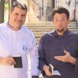 """Bruno Cormerais et Norbert Tarayre dans """"La Meilleure Boulangerie de France"""", sur M6"""