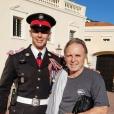 Michaël Ducruet, grand frère et témoin de mariage de Louis Ducruet pour la cérémonie religieuse du 27 juillet 2019 à Monaco.