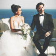 Jade Leboeuf et Stéphane Rodrigues se sont une nouvelle fois mariés à Toulon le 12 juillet 2019.
