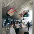Le second mariage de Jade Leboeuf avec Stéphane Rodriguez, le 12 juillet 2019 à Toulon.