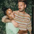 Christina Milian publie une photo avec M. Pokora prise quelques semaines auparavant lors de leurs vacances à Saint-Tropez. Instagram, le 21 juillet 2019.