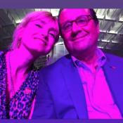 François Hollande et Julie Gayet : Selfie lors d'une soirée en amoureux !