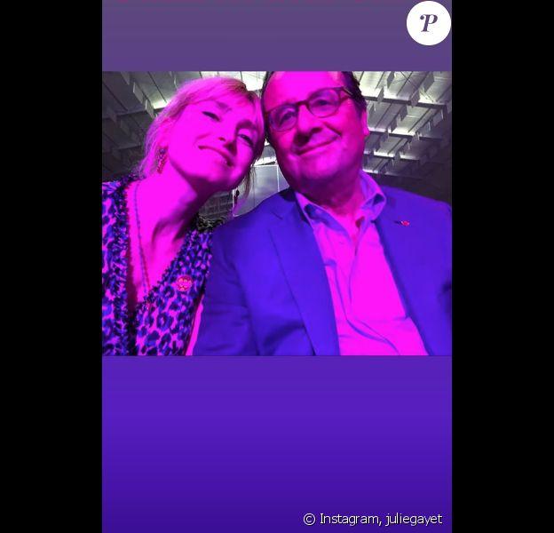 Julie Gayet sur Instagram.