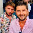 Christophe Beaugrand et son époux Ghislain en vacances à Saint-Tropez - Instagram, 3 août 2018