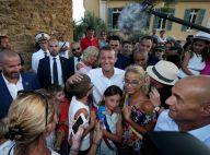 Emmanuel et Brigitte Macron à Brégançon : Pizza et jet-ski, un séjour familial