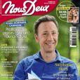 """Stéphane Bern en couverture du magazine """"Nous Deux"""", le 6 août 2019."""