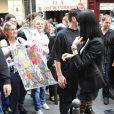 Katy Perry à Paris, le 16 juin 2009