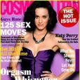 Katy Perry en couverture de Cosmopolitan