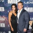 Matt Damon, Luciana Barroso à la première du film Men In Black international à New York le 11 juin 2019.