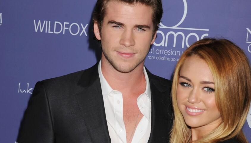 Liam Hemsworth et Miley Cyrus, 27 Juin 2012. Californie
