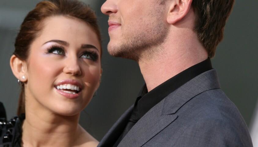 Miley Cyrus et Liam Hemsworth, le 25 mars 2010. Hollywood