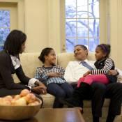 Barack Obama, homme le plus puissant du monde mais papa poule avant tout !