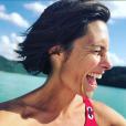 Alessandra Sublet au Lac de Vouglans, le 8 juillet 2019.