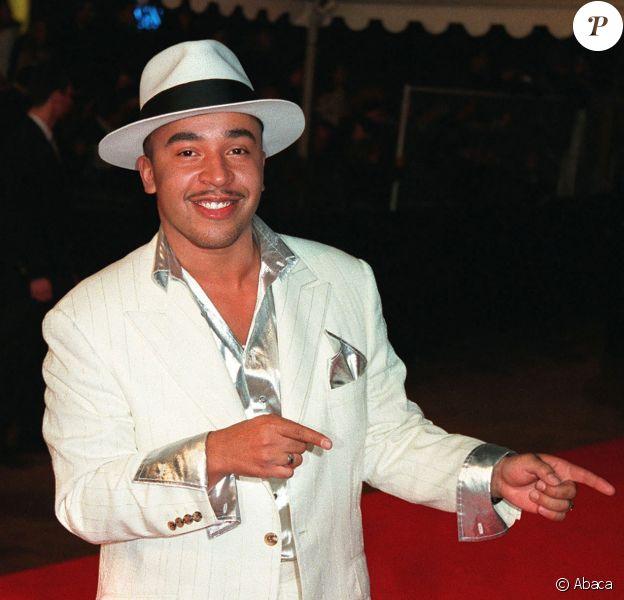 Lou Bega aux NRJ Music Awards 2000 à Cannes.