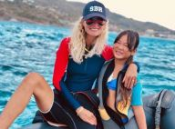 Laeticia Hallyday en apesanteur : sublime plongée à Saint-Barth avec Jade et Joy
