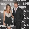 David Hasselhoff et Lisa Snowdon au Living TV summer 2009 à Londres le 1er juillet.