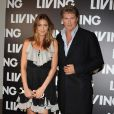 David Hasellhoff et Lisa Snowdon au Living TV summer 2009 le 1er juillet à Londres