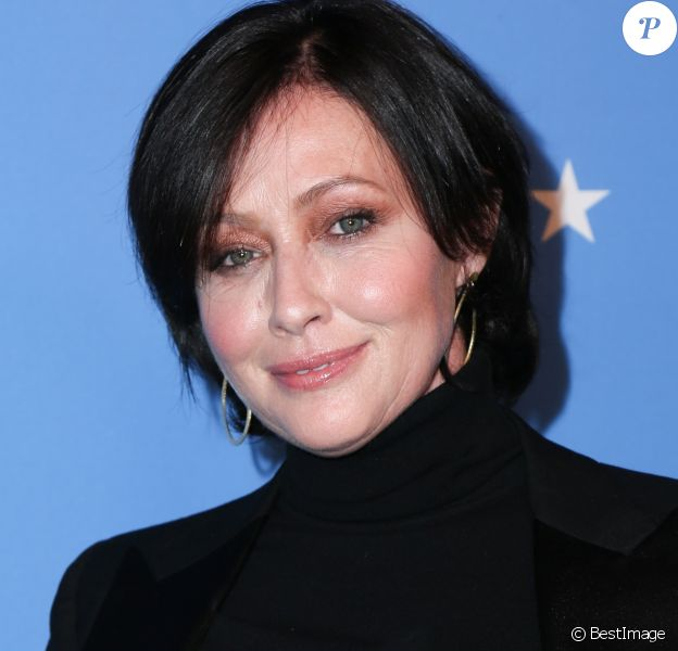 Shannen Doherty - Soirée Paramount Network à l'hôtel Sunset Tower à Los Angeles, Californie, Etats-Unis, le 18 janvier 2018.