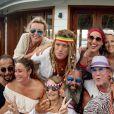 Exclusif - Don Soley, Gilles Lhote lors du St-Barth Family Festival 2019 à l'hôtel Manapany sur l'île de Saint-Barthélemy, Antilles française, France, le 8 août 2019. © Xavier Merchet-Thau/PhotoStBarth/Bestimage