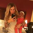 Émilie Fiorelli (Secret Story 9) et sa fille Louna sur Instagram, le 7 août 2019.