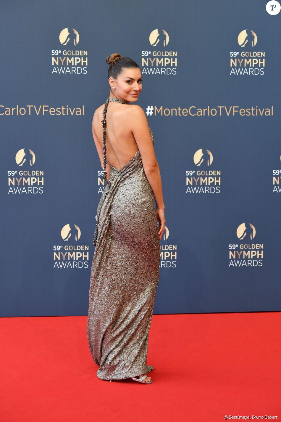 Candice Pascal - Soirée de clôture du 59ème Festival de Télévision de Monte Carlo au Grimaldi Forum à Monaco, le 18 juin 2019. © Bruno Bebert/Bestimage