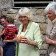 Le prince Charles et Camilla visitent les îles de Scilly