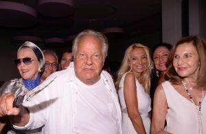 Massimo Gargia fête ses 79 ans : la jet set se retrouve à Saint-Tropez