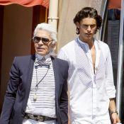"Baptiste Giabiconi et Karl Lagerfeld : ""On s'aimait. Profondément"""