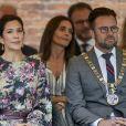 La princesse Mary de Danemark inaugurait le 15 août 2019 le festival des fleurs à Odense, baptisant à cette occasion une nouvelle variété d'hortensias.