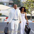 Mel B et son époux hier en plein shopping à Los Angeles