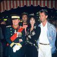 Michel Aumont, Anémone et Thierry Lhermitte le 09/10/1985.